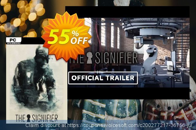 The Signifier PC discount 34% OFF, 2021 Mother Day discount. The Signifier PC Deal 2021 CDkeys