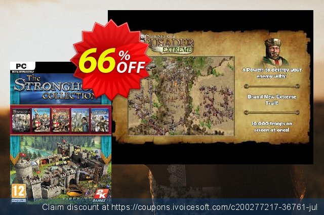 The Stronghold Collection PC discount 40% OFF, 2021 Mother's Day promo. The Stronghold Collection PC Deal 2021 CDkeys