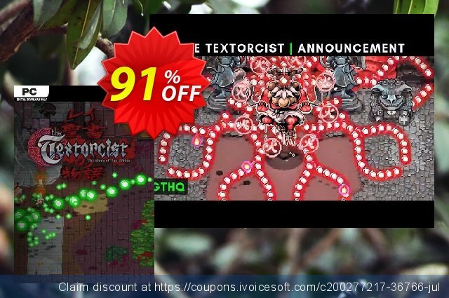 The Textorcist: The Story of Ray Bibbia PC (EN) discount 92% OFF, 2021 Mother Day offering sales. The Textorcist: The Story of Ray Bibbia PC (EN) Deal 2021 CDkeys