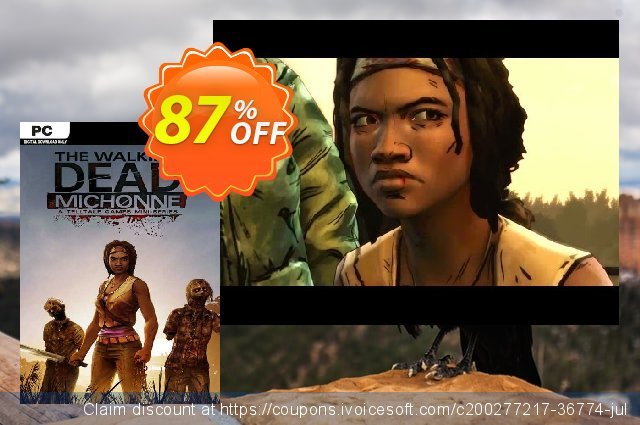 The Walking Dead: Michonne - A Telltale Miniseries PC discount 86% OFF, 2021 Mother Day offer. The Walking Dead: Michonne - A Telltale Miniseries PC Deal 2021 CDkeys