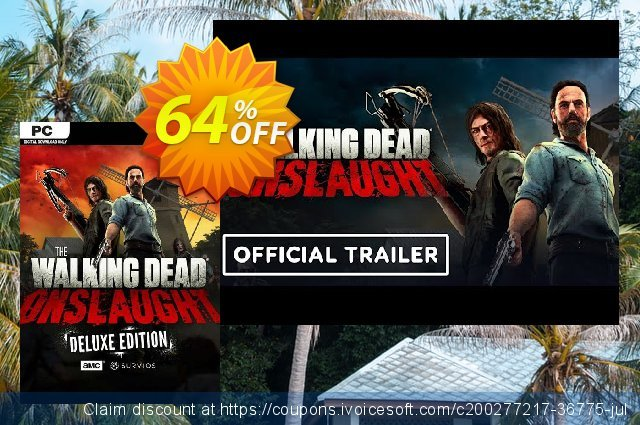 The Walking Dead Onslaught Deluxe Edition PC discount 69% OFF, 2021 Mother's Day discount. The Walking Dead Onslaught Deluxe Edition PC Deal 2021 CDkeys