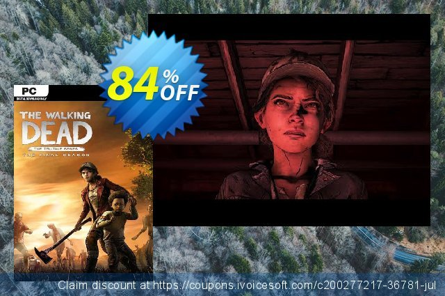 The Walking Dead: The Final Season PC discount 80% OFF, 2021 Mother's Day offering sales. The Walking Dead: The Final Season PC Deal 2021 CDkeys