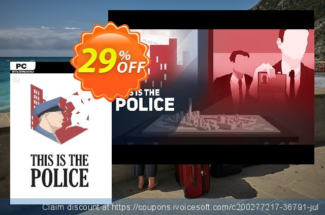 This Is the Police PC discount 80% OFF, 2021 Mother's Day sales. This Is the Police PC Deal 2021 CDkeys