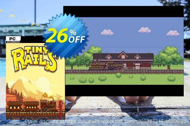 Tiny Rails PC discount 27% OFF, 2021 Mother Day offering sales. Tiny Rails PC Deal 2021 CDkeys