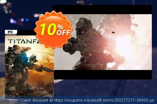 Titanfall PC (EU) discount 10% OFF, 2021 Mother's Day offering sales. Titanfall PC (EU) Deal 2021 CDkeys