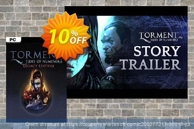 Torment Tides of Numenera Legacy Edition PC discount 10% OFF, 2021 Mother Day promo. Torment Tides of Numenera Legacy Edition PC Deal 2021 CDkeys