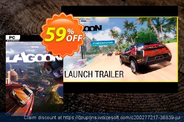 Trackmania 2 Lagoon PC discount 56% OFF, 2021 Mother's Day offering sales. Trackmania 2 Lagoon PC Deal 2021 CDkeys