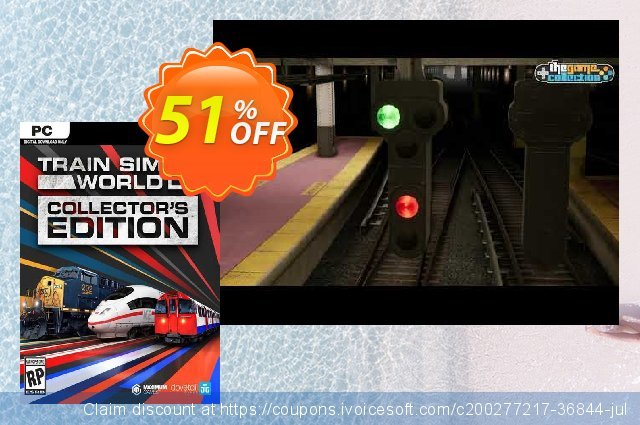 Train Sim World 2 - Collector's Edition PC discount 56% OFF, 2021 Mother Day offering sales. Train Sim World 2 - Collector's Edition PC Deal 2021 CDkeys