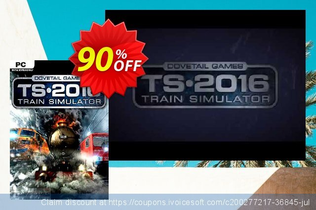 Train Simulator 2016 PC discount 90% OFF, 2021 Mother's Day offering sales. Train Simulator 2016 PC Deal 2021 CDkeys