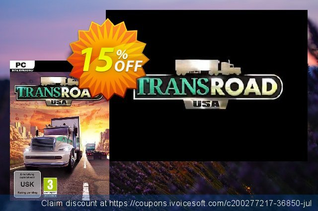 TransRoad: USA PC discount 80% OFF, 2021 Mother Day offer. TransRoad: USA PC Deal 2021 CDkeys