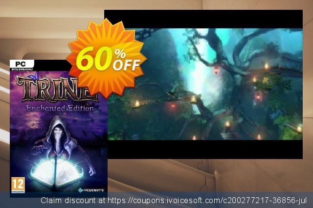 Trine Enchanted Edition PC discount 63% OFF, 2021 Mother Day promo. Trine Enchanted Edition PC Deal 2021 CDkeys