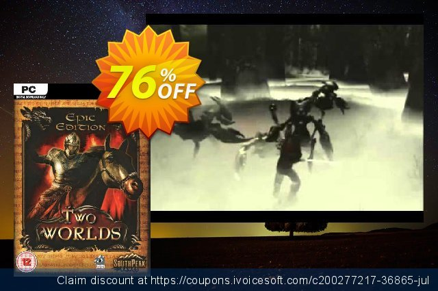 Two Worlds Epic Edition PC discount 90% OFF, 2021 Mother's Day discounts. Two Worlds Epic Edition PC Deal 2021 CDkeys