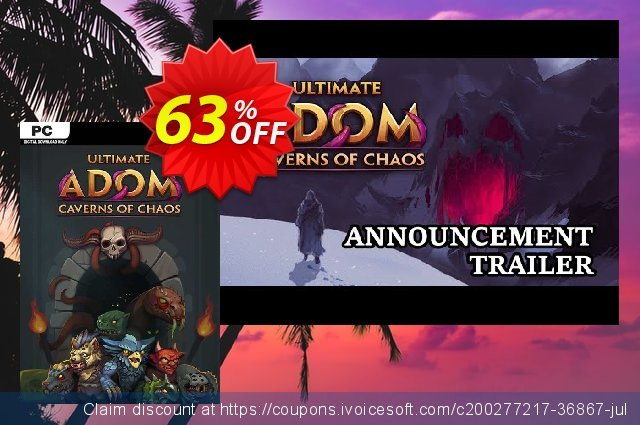 Ultimate ADOM - Caverns of Chaos PC discount 34% OFF, 2021 Mother's Day sales. Ultimate ADOM - Caverns of Chaos PC Deal 2021 CDkeys