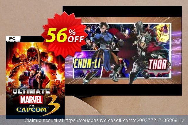 ULTIMATE MARVEL VS. CAPCOM 3 PC discount 74% OFF, 2021 Mother's Day offer. ULTIMATE MARVEL VS. CAPCOM 3 PC Deal 2021 CDkeys