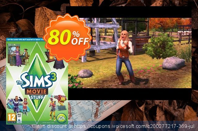 The Sims 3 - Movie Stuff PC discount 71% OFF, 2020 July 4th offering sales