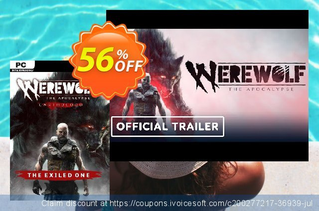 Werewolf: The Apocalypse - Earthblood The Exiled One PC - DLC discount 56% OFF, 2021 Summer Solstice offering sales. Werewolf: The Apocalypse - Earthblood The Exiled One PC - DLC Deal 2021 CDkeys