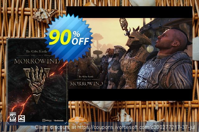 The Elder Scrolls Online - Morrowind PC + DLC (inc base game) discount 68% OFF, 2021 Mother's Day discounts. The Elder Scrolls Online - Morrowind PC + DLC (inc base game) Deal