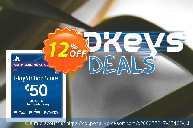 PlayStation Network (PSN) Card - 50 EUR (Austria) discount 12% OFF, 2021 Mother Day promotions. PlayStation Network (PSN) Card - 50 EUR (Austria) Deal 2021 CDkeys