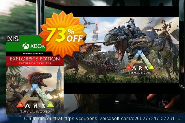 ARK Survival Evolved Explorers Edition Xbox One/Xbox Series X|S (UK) discount 73% OFF, 2021 World Bicycle Day offering discount. ARK Survival Evolved Explorers Edition Xbox One/Xbox Series X|S (UK) Deal 2021 CDkeys