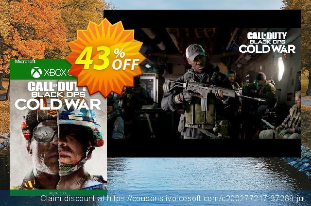 Call of Duty: Black Ops Cold War - Standard Edition Xbox One (UK) discount 43% OFF, 2021 Kissing Day offering discount. Call of Duty: Black Ops Cold War - Standard Edition Xbox One (UK) Deal 2021 CDkeys