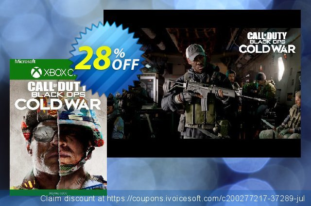 Call of Duty: Black Ops Cold War - Standard Edition Xbox One (US) discount 23% OFF, 2021 Camera Day offering sales. Call of Duty: Black Ops Cold War - Standard Edition Xbox One (US) Deal 2021 CDkeys