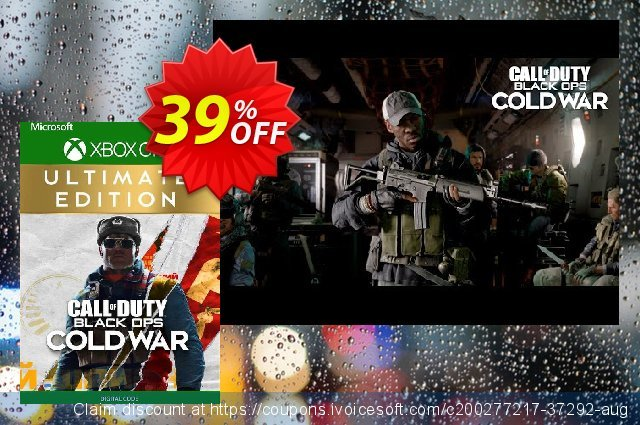 Call of Duty: Black Ops Cold War - Ultimate Edition Xbox One (UK) 可怕的 折扣码 软件截图