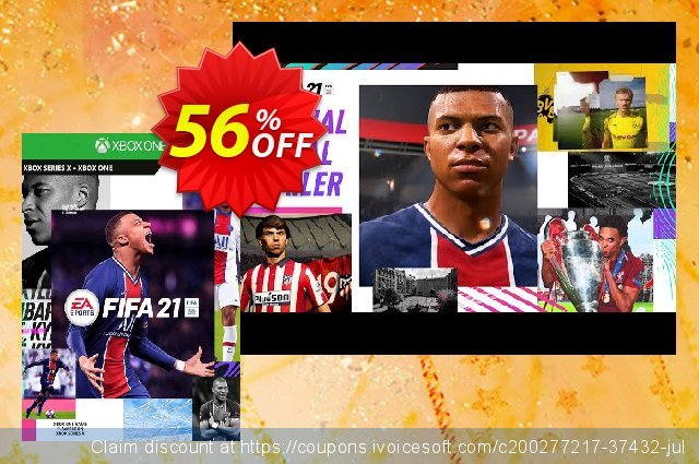 FIFA 21 + 500 FUT Points Xbox One/Xbox Series X|S (UK) discount 56% OFF, 2021 Camera Day offering sales. FIFA 21 + 500 FUT Points Xbox One/Xbox Series X|S (UK) Deal 2021 CDkeys