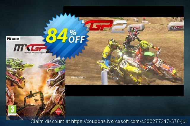 MXGP2: The Official Motocross Videogame PC discount 84% OFF, 2021 Happy New Year offering sales