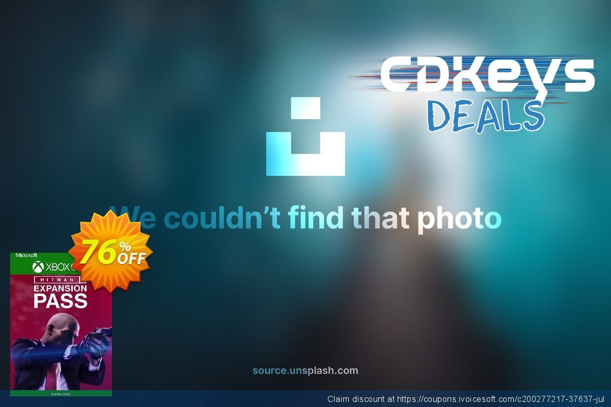 HITMAN 2 - Expansion Pass Xbox One (UK) discount 76% OFF, 2021 Selfie Day offering sales. HITMAN 2 - Expansion Pass Xbox One (UK) Deal 2021 CDkeys