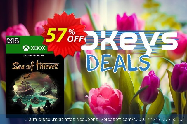 Sea of Thieves Xbox One/Xbox Series X|S (UK) discount 57% OFF, 2021 World Day of Music offering sales. Sea of Thieves Xbox One/Xbox Series X|S (UK) Deal 2021 CDkeys