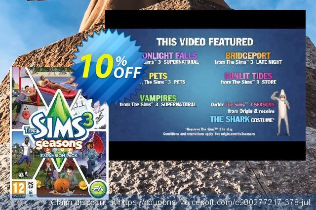 The Sims 3: Seasons Expansion Pack PC  서늘해요   촉진  스크린 샷