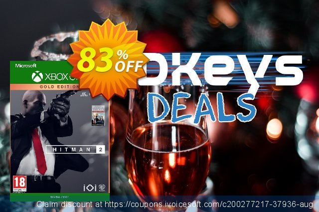 Hitman 2 - Gold Edition Xbox One (UK) discount 83% OFF, 2021 Selfie Day offering deals. Hitman 2 - Gold Edition Xbox One (UK) Deal 2021 CDkeys
