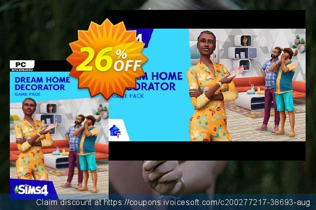 The Sims 4 - Dream Home Decorator Pack PC - DLC discount 26% OFF, 2021 Camera Day discount. The Sims 4 - Dream Home Decorator Pack PC - DLC Deal 2021 CDkeys