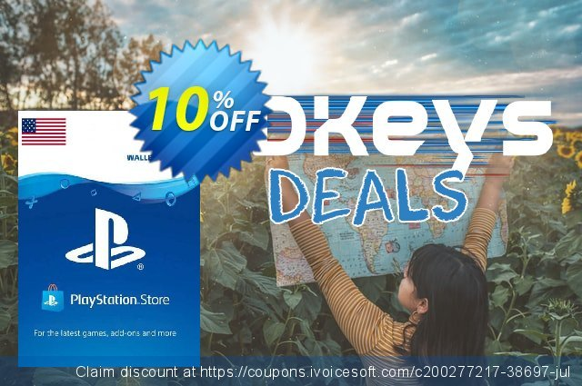 PlayStation Network (PSN) Card - 75 USD (USA) discount 10% OFF, 2021 Global Running Day promo sales. PlayStation Network (PSN) Card - 75 USD (USA) Deal 2021 CDkeys