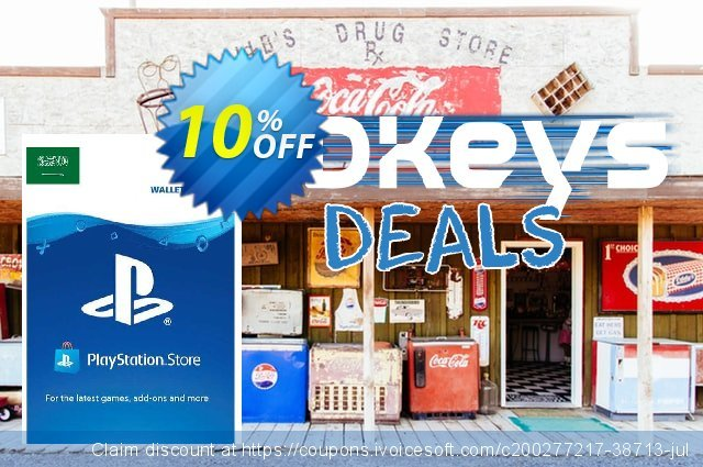 PlayStation Network (PSN) Card - 30 USD (KSA) discount 10% OFF, 2021 World Bicycle Day offering discount. PlayStation Network (PSN) Card - 30 USD (KSA) Deal 2021 CDkeys