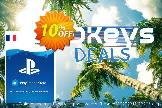 PlayStation Network (PSN) Card - 75 EUR (FRANCE) discount 10% OFF, 2021 Global Running Day offering sales. PlayStation Network (PSN) Card - 75 EUR (FRANCE) Deal 2021 CDkeys