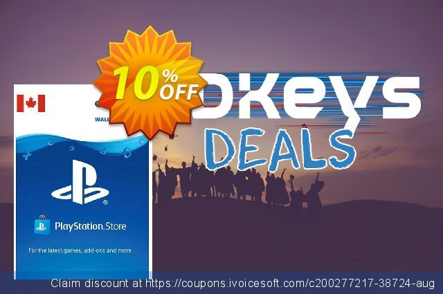 PlayStation Network (PSN) Card - 100 CAD (CANADA) discount 10% OFF, 2021 Italian Republic Day offering sales. PlayStation Network (PSN) Card - 100 CAD (CANADA) Deal 2021 CDkeys