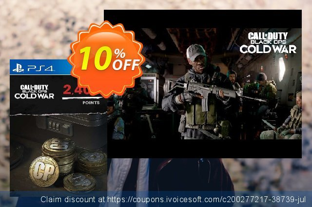 Call of Duty: Black Ops Cold War - 2400 Points PS4/PS5 (Belgium) discount 10% OFF, 2021 World Bicycle Day offering sales. Call of Duty: Black Ops Cold War - 2400 Points PS4/PS5 (Belgium) Deal 2021 CDkeys