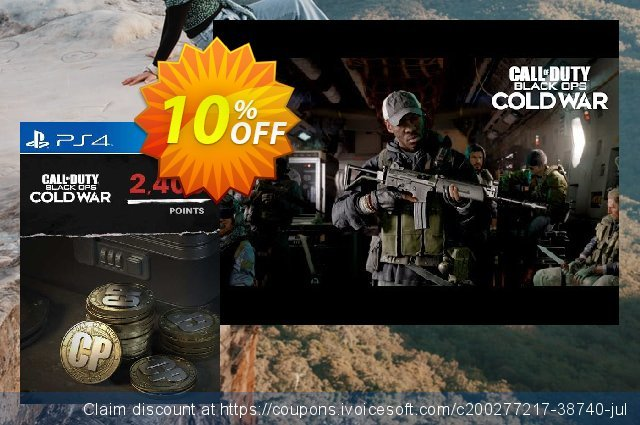 Call of Duty: Black Ops Cold War - 2400 Points PS4/PS5 (Netherlands) 最 优惠券 软件截图