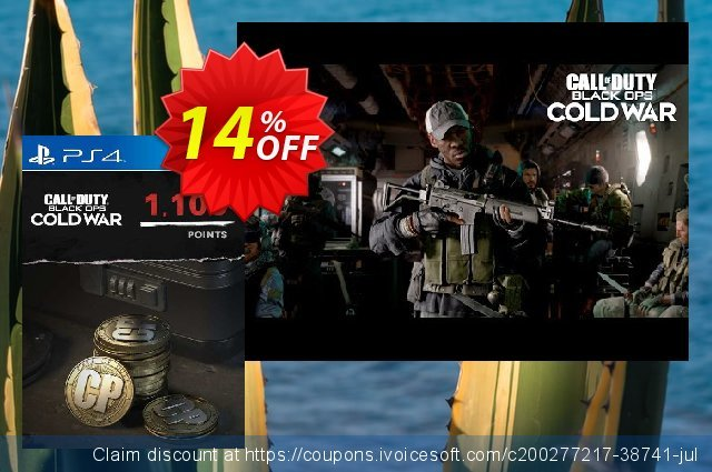 Call of Duty: Black Ops Cold War - 1100 Points PS4/PS5 (Netherlands) discount 14% OFF, 2021 Oceans Month offering sales. Call of Duty: Black Ops Cold War - 1100 Points PS4/PS5 (Netherlands) Deal 2021 CDkeys