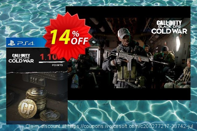 Call of Duty: Black Ops Cold War - 1100 Points PS4/PS5 (Belgium) 独占 扣头 软件截图