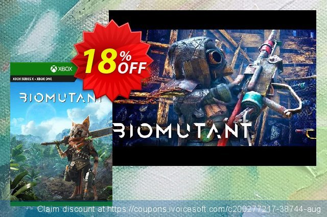 Biomutant Xbox One (UK) discount 18% OFF, 2021 Kissing Day offering sales. Biomutant Xbox One (UK) Deal 2021 CDkeys