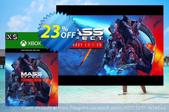 Mass Effect Legendary Edition Xbox One/ Xbox Series X|S (UK) discount 23% OFF, 2021 Camera Day discounts. Mass Effect Legendary Edition Xbox One/ Xbox Series X|S (UK) Deal 2021 CDkeys