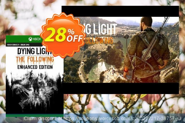 Dying Light: The Following - Enhanced Edition Xbox One (UK) discount 28% OFF, 2021 Kissing Day offering sales. Dying Light: The Following - Enhanced Edition Xbox One (UK) Deal 2021 CDkeys
