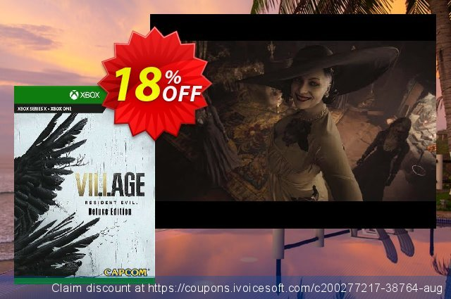 Resident Evil Village Deluxe Edition Xbox One (UK) discount 18% OFF, 2021 Egg Day discounts. Resident Evil Village Deluxe Edition Xbox One (UK) Deal 2021 CDkeys