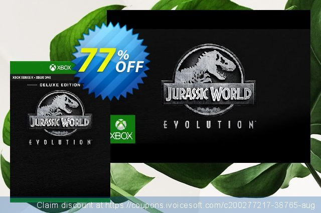 Jurassic World Evolution - Deluxe Bundle Xbox One (UK) discount 77% OFF, 2021 World Bicycle Day promotions. Jurassic World Evolution - Deluxe Bundle Xbox One (UK) Deal 2021 CDkeys
