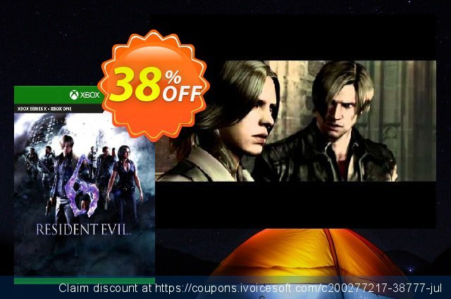 Resident Evil 6 Xbox One (UK) discount 38% OFF, 2021 Egg Day offering sales. Resident Evil 6 Xbox One (UK) Deal 2021 CDkeys