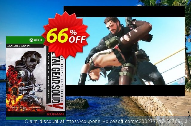 Metal Gear Solid V: The Definitive Experience Xbox One (UK) 令人惊讶的 优惠码 软件截图