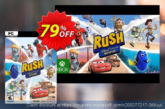 RUSH: A Disney • PIXAR Adventure PC 대단하다  제공  스크린 샷