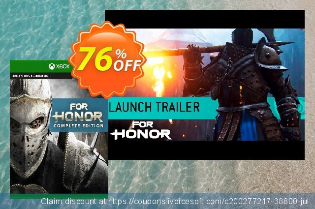 For Honor Complete Edition Xbox One (UK) discount 76% OFF, 2021 Flag Day offering sales. For Honor Complete Edition Xbox One (UK) Deal 2021 CDkeys